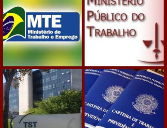 A diferença entre Ministério do Trabalho, Ministério Público do Trabalho e Justiça do Trabalho